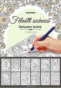 TITOKZATOS KERTEK - FELNŐTT SZÍNEZŐ