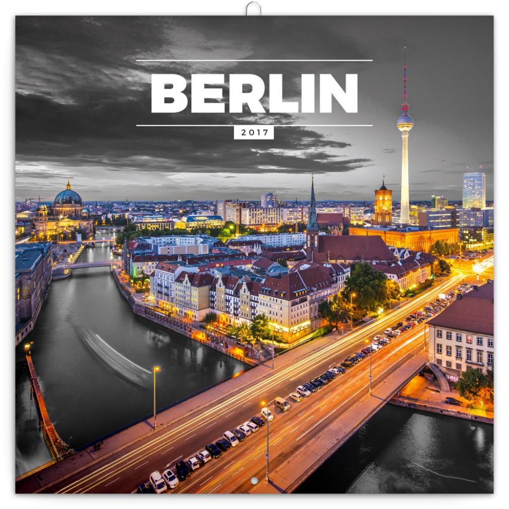 PG NAPTÁR - BERLIN, GRID CALENDAR 2017, 30 X 30 CM