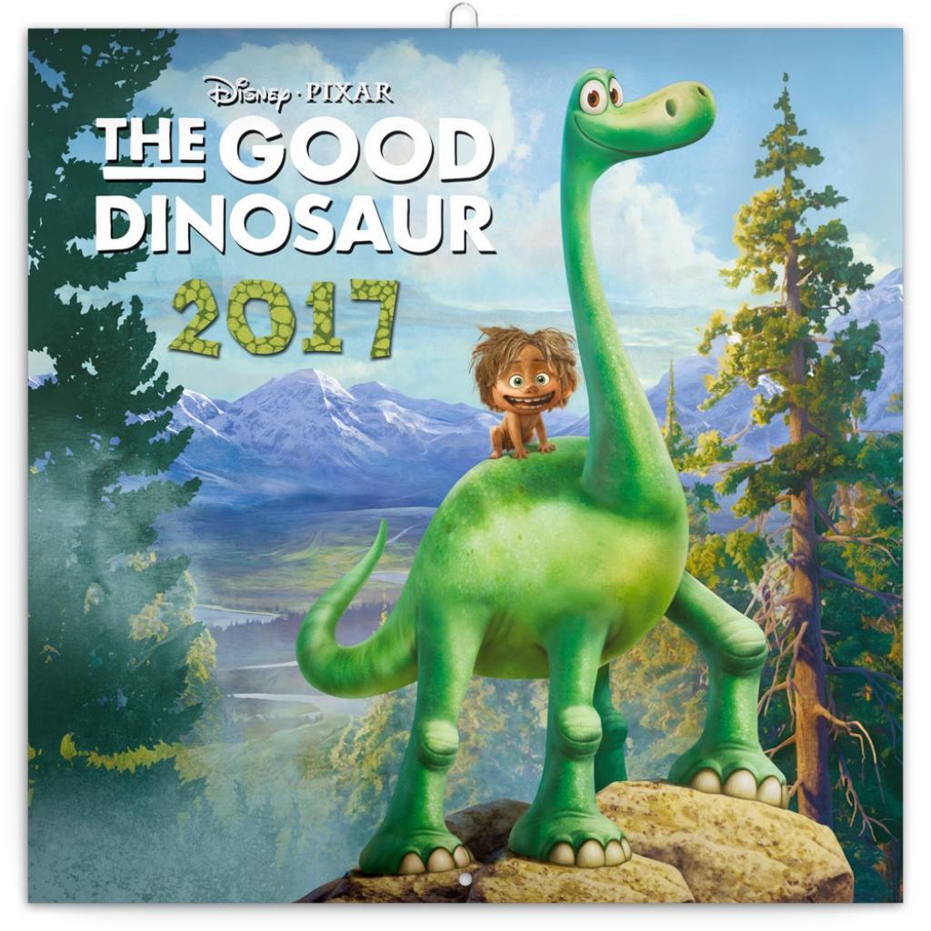 PG NAPTÁR - THE GOOD DINOSAUR - W. DISNEY, GRID CALENDAR 2017, 30 X 30 CM