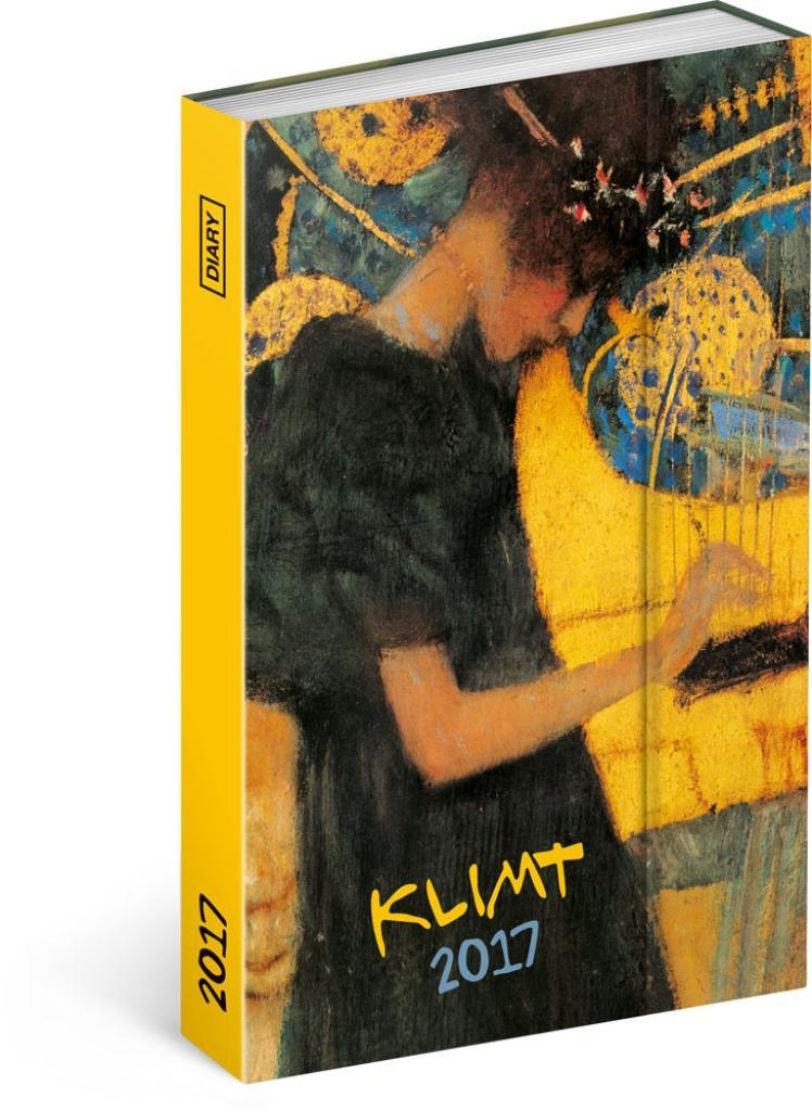 PG NAPTÁR - GUSTAV KLIMT, DIARY 2017, 10,5 X 15,8 CM