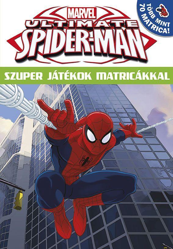 ULTIMATE SPIDER-MAN - SZUPER JÁTÉKOK MATRICÁKKAL 16