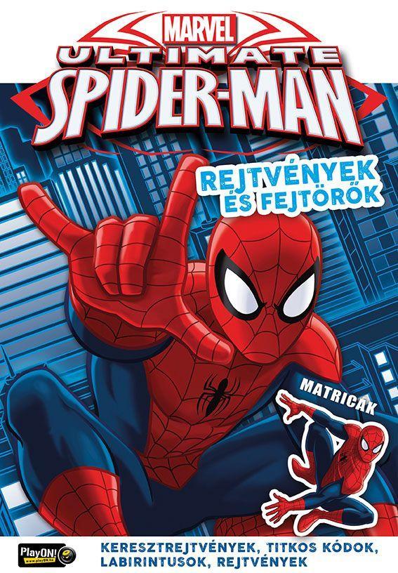 ULTIMATE SPIDER-MAN - REJTVÉNYEK ÉS FEJTÖRŐK MATRICÁKKAL 24