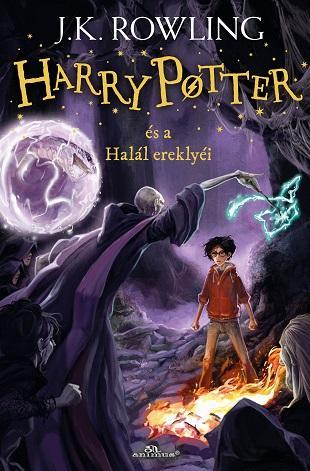 HARRY POTTER ÉS A HALÁL EREKLYÉI - ÚJ! FŰZÖTT