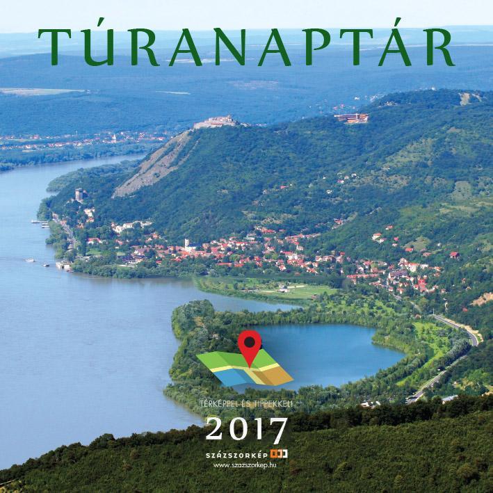 NAPTÁR 2017 TÚRANAPTÁR 30*30 CM