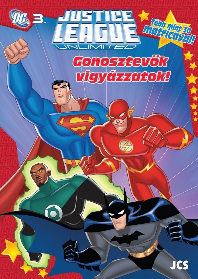GONOSZTEVŐK VIGYÁZZATOK! - DC 3. (AZ IGAZSÁG LIGÁJA) - FOGLALKOZTATÓ