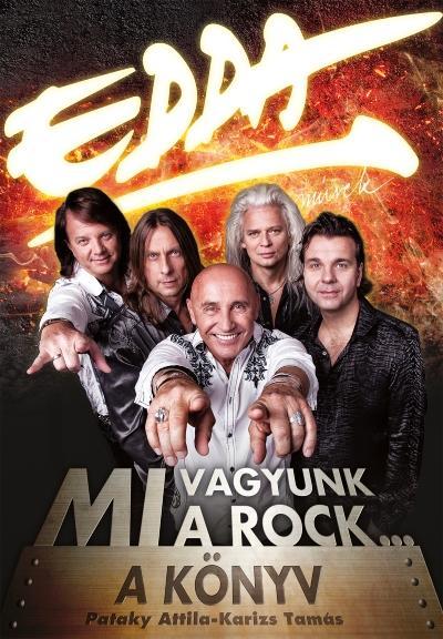 EDDA - MI VAGYUNK A ROCK... - A KÖNYV