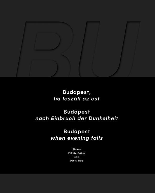 BUDAPEST, HA LESZÁLL AZ EST (HÁROMNYELVŰ)