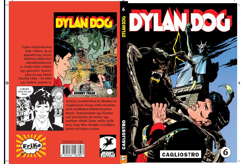 DYLAN DOG 6. - CAGLIOSTRO!