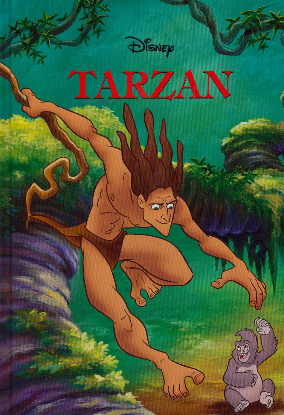 TARZAN (DISNEY KÖNYVKLUB)