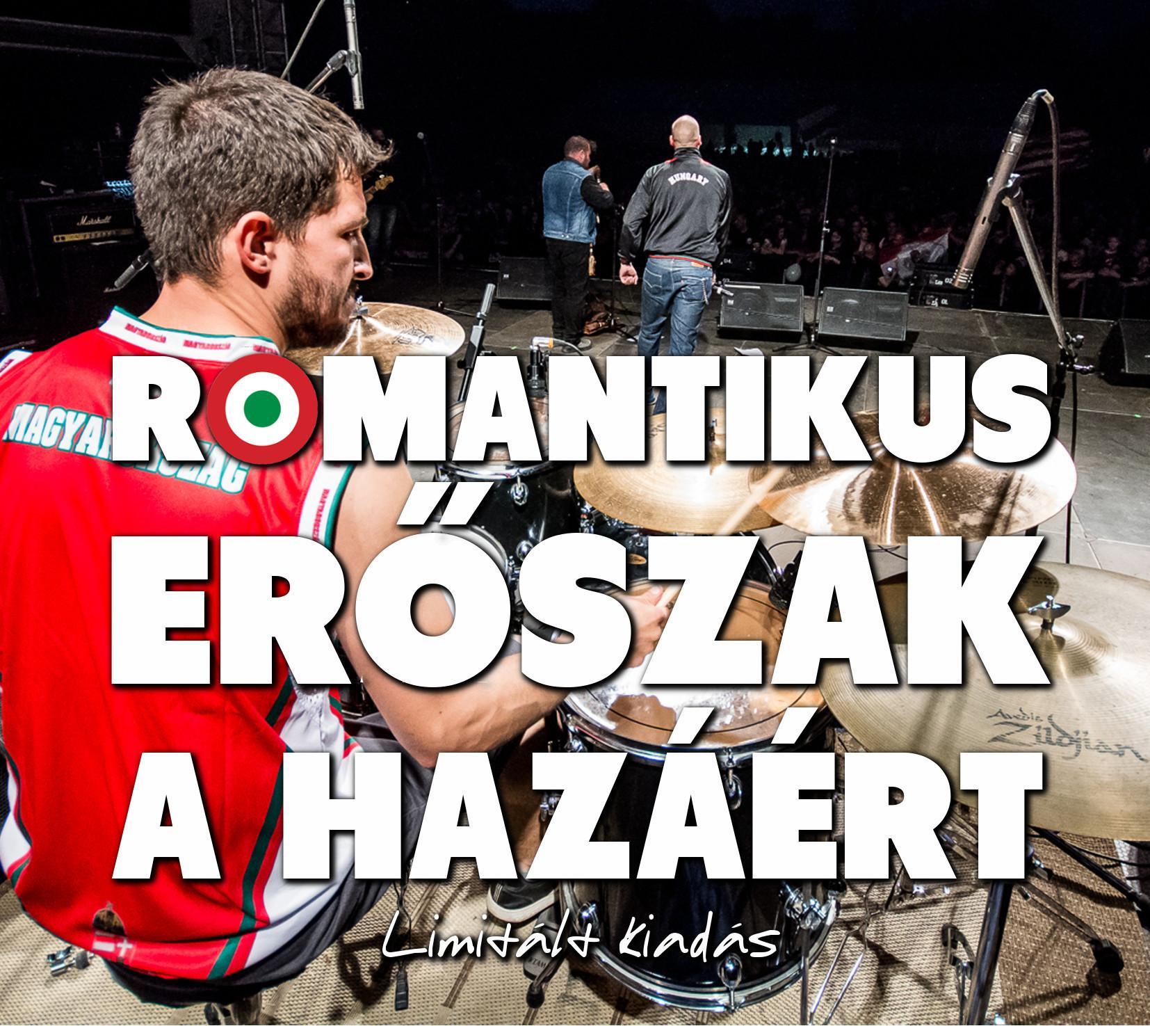 - A HAZÁÉRT - ROMANTIKUS ERŐSZAK (FEHÉR) - DIGI CD -   (LIMITÁLT KIADÁS)