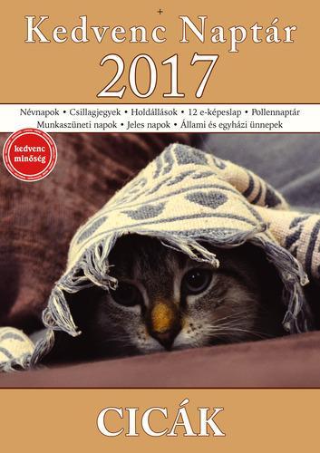 KEDVENC NAPTÁR 2017 - CICÁK
