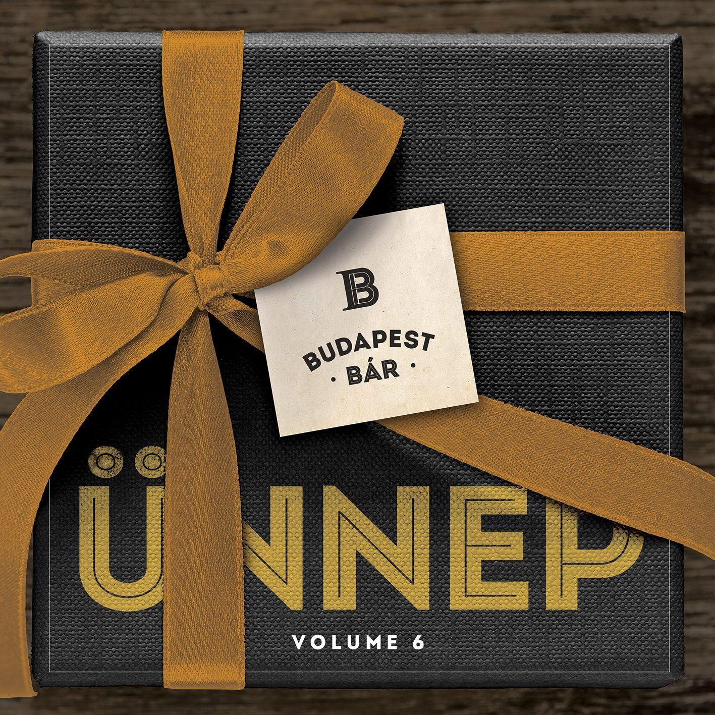 BUDAPEST BÁR - VOLUME 6. - ÜNNEP - CD -