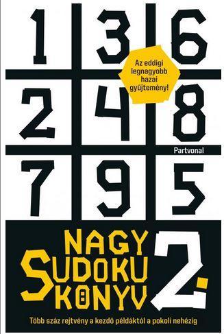 NAGY SUDOKU KÖNYV 2.