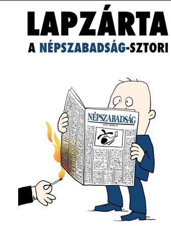- - LAPZÁRTA - A NÉPSZABADSÁG-SZTORI