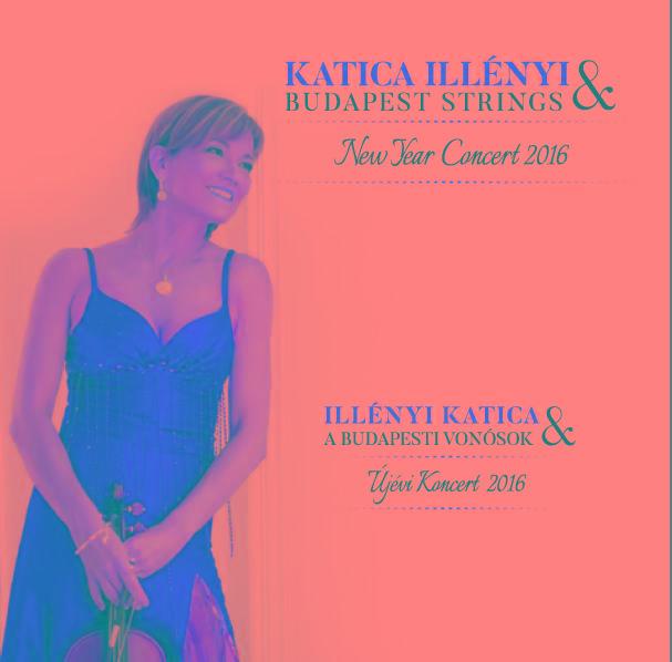 ILLÉNYI KATICA - ÚJÉVI KONCERT 2016 - ILLÉNYI KATICA & A BUDAPESTI VONÓSOK - CD -