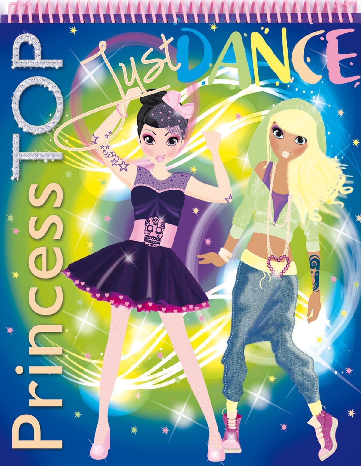 - - PRINCESS TOP - JUST DANCE (BLUE)