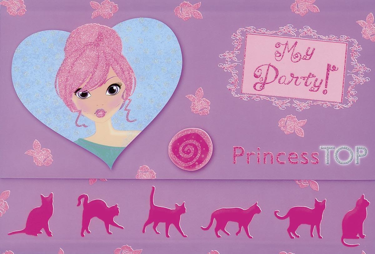 - - PRINCESS TOP - MY PARTY (PURPLE)