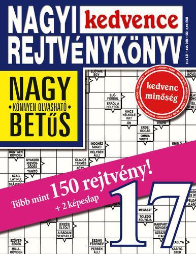 NAGYI KEDVENCE REJTVÉNYKÖNYV 17.