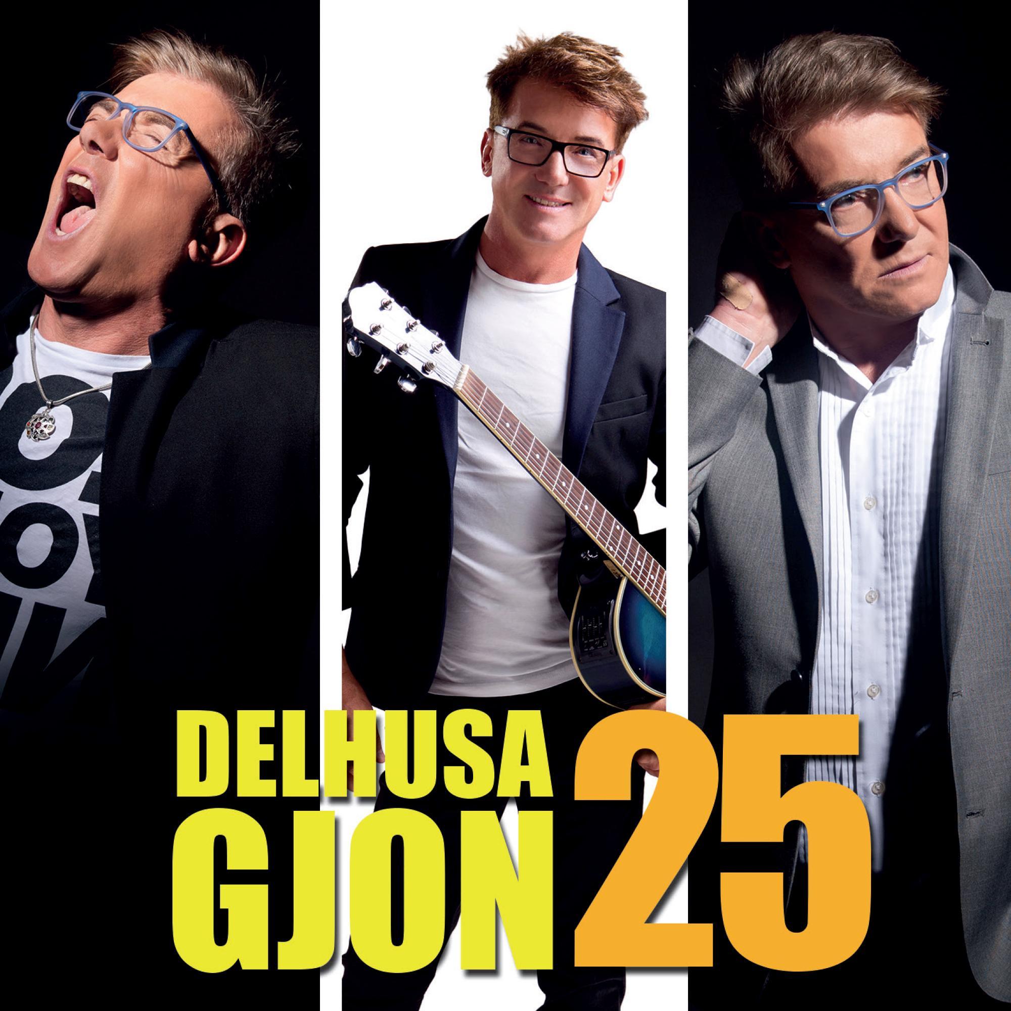 GJON, DELHUSA - DELHUSA GJON 25 - CD -