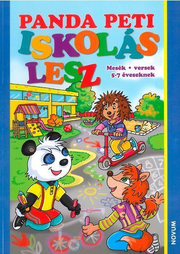 - - PANDA PETI ISKOLÁS LESZ