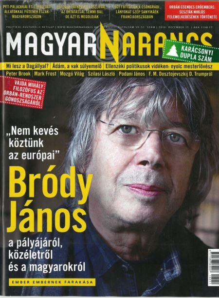 - - MAGYAR NARANCS FOLYÓIRAT - XXVIII. ÉVF. 50-51. SZÁM, 2016. DECEMBER 15.