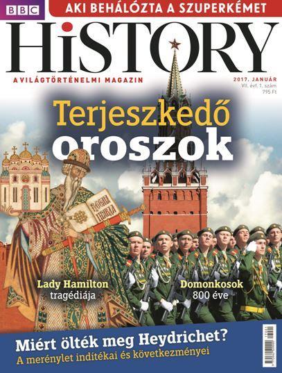 - - BBC HISTORY VII. ÉVF. - 2017/1. JANUÁR