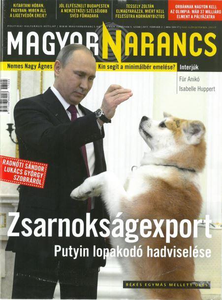 MAGYAR NARANCS FOLYÓIRAT - XXIX. ÉVF. 05. SZÁM, 2017. FEBRUÁR 2.