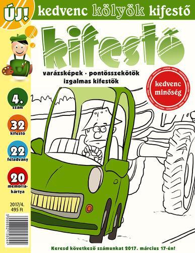 CSOSCH BT. - KEDVENC KÖLYÖK KIFESTŐ 4. 2017/4.