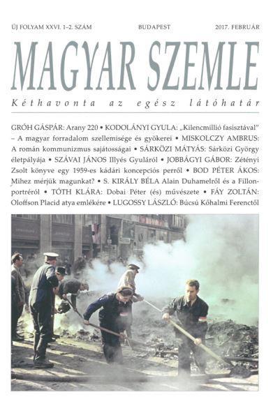 MAGYAR SZEMLE - 2017. FEBRUÁR