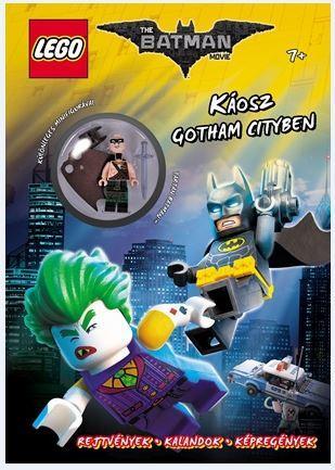 KÁOSZ GOTHAM CITYBEN - LEGO THE BATMAN MOVIE (AJÁNDÉK MINIFIGURÁVAL)