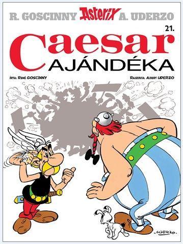 CAESAR AJÁNDÉKA - ASTERIX 21.