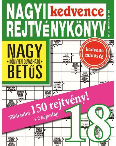 NAGYI KEDVENCE REJTVÉNYKÖNYV 18.