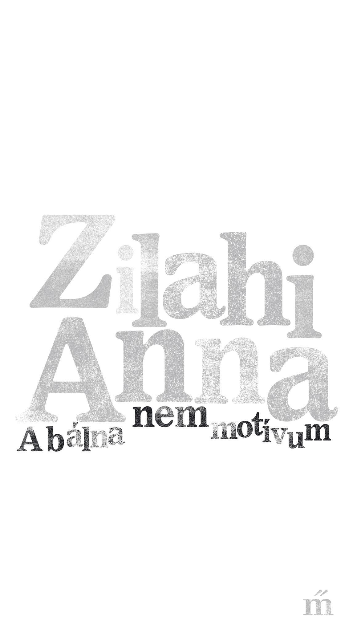 Zilahi Anna: A bálna nem motívum