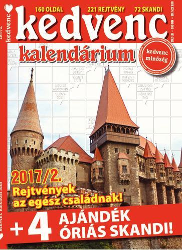 KEDVENC KALENDÁRIUM 2017/2.