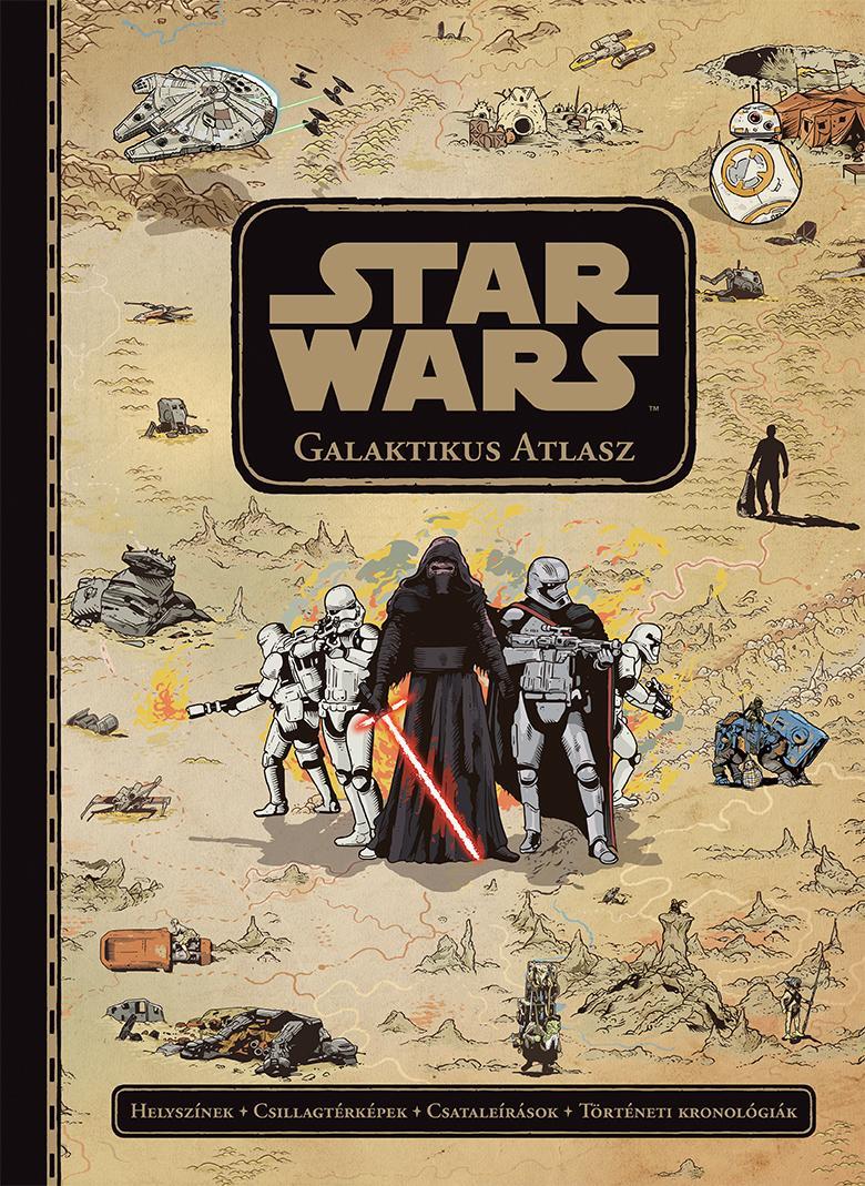 STAR WARS GALAKTIKUS ATLASZ