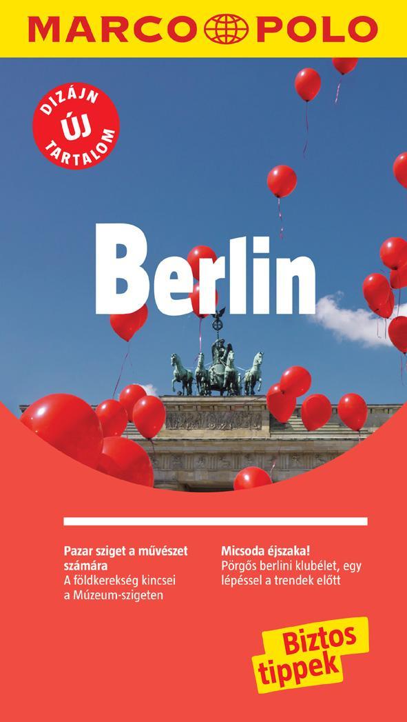 BERLIN - MARCO POLO - ÚJ DIZÁJN, ÚJ TARTALOM