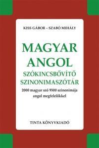 - - MAGYAR-ANGOL SZÓKINCSBŐVÍTŐ SZINONIMASZÓTÁR
