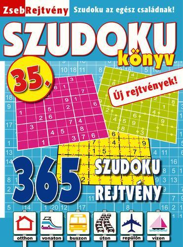 ZSEBREJTVÉNY SZUDOKU KÖNYV 35.