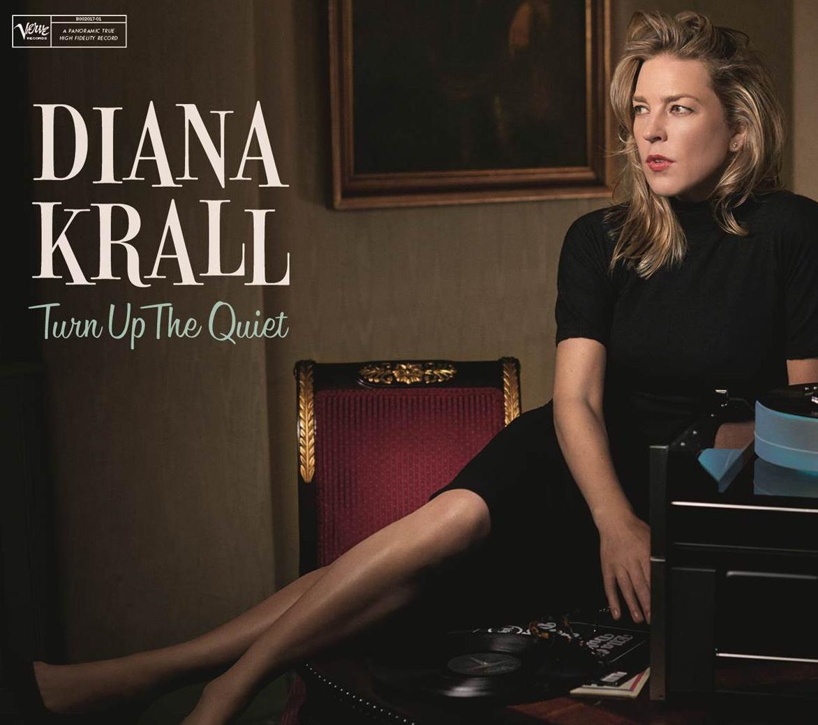 KRALL, DIANA - TURN UP THE QUIET - CD -