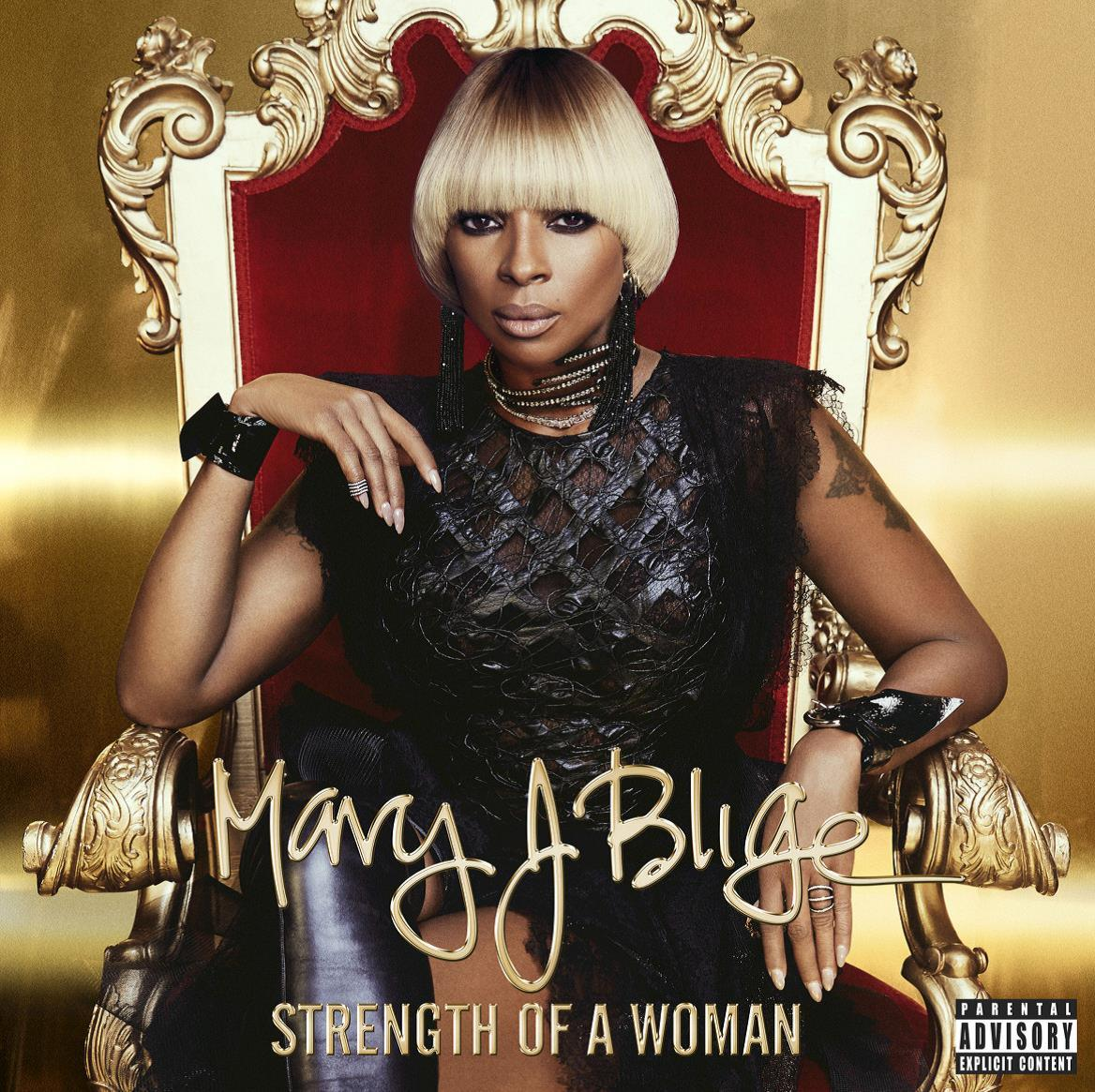 BLIGE, J. MARY - STRENGTH OF A WOMAN - CD -