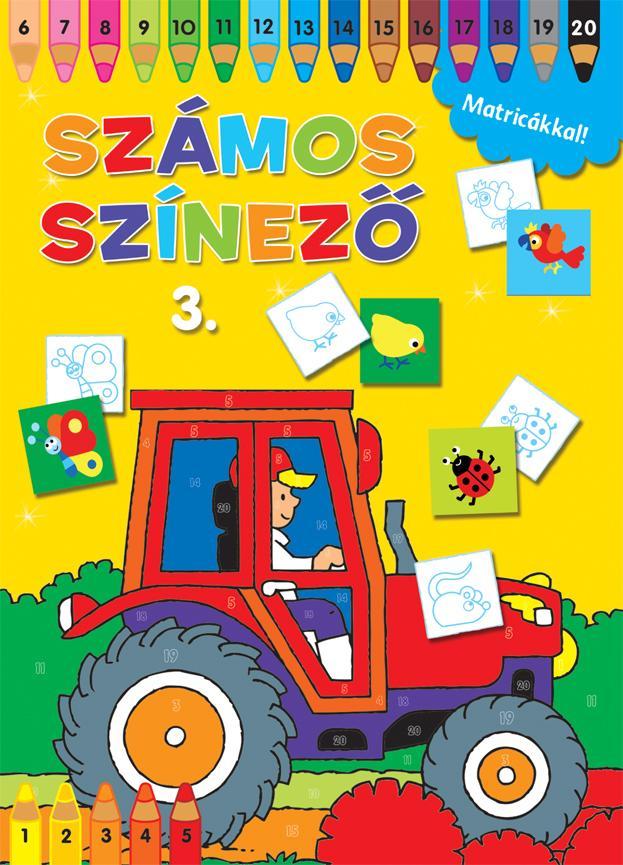 SZÁMOS SZÍNEZŐ MATRICÁKKAL 3. - SÁRGA