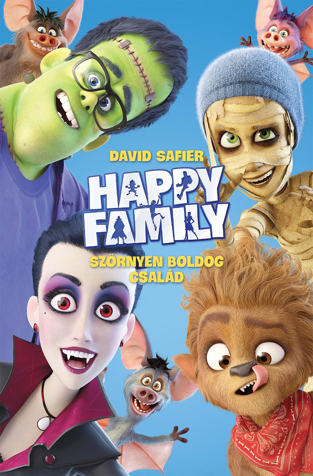 SAFIER, DAVID - HAPPY FAMILY - SZÖRNYEN BOLDOG CSALÁD