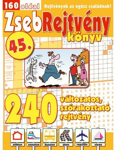 ZSEBREJTVÉNY KÖNYV 45.