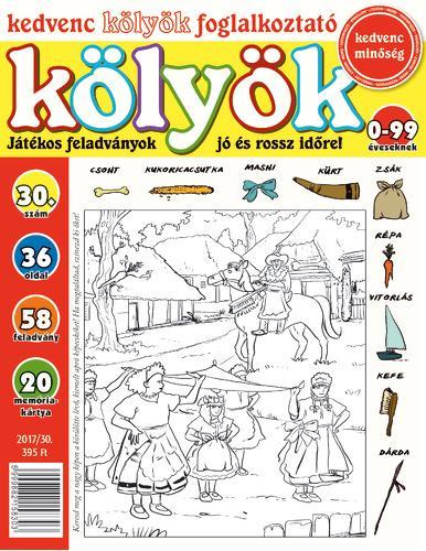 KEDVENC KÖLYÖK FOGLALKOZTATÓ 30.