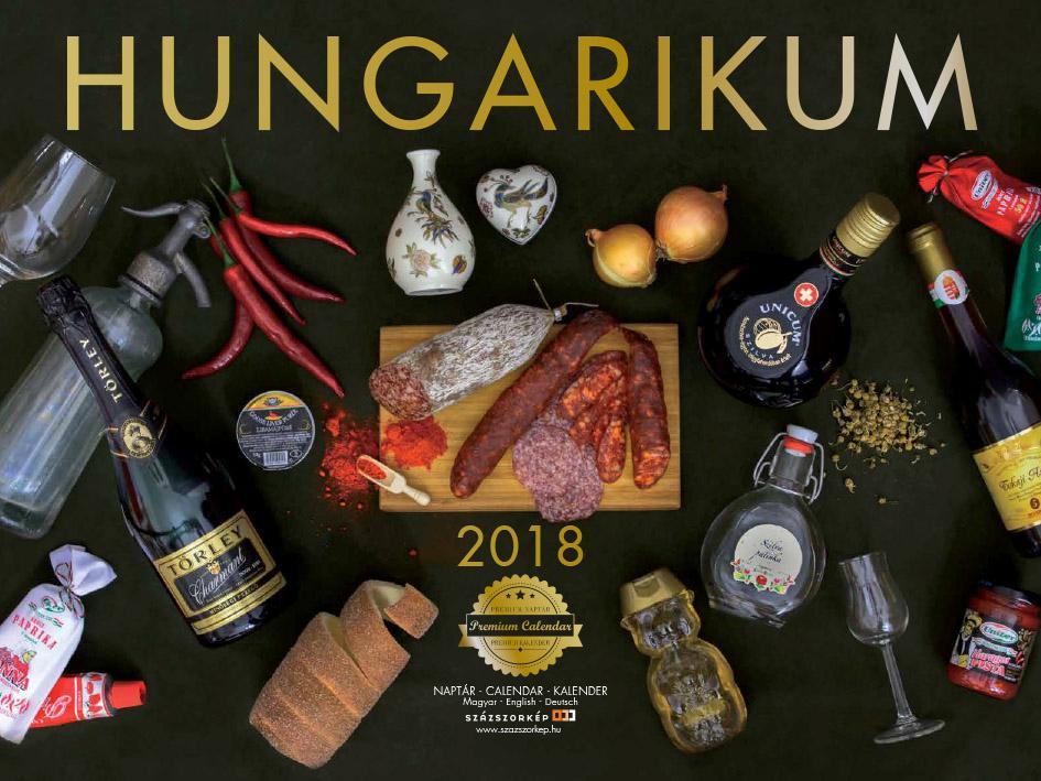 HUNGARIKUM - NAPTÁR 2018 (30X40CM)