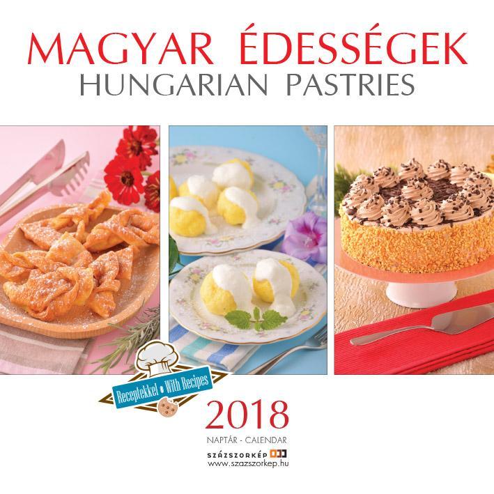 MAGYAR ÉDESSÉGEK - NAPTÁR 2018 (22X22CM)