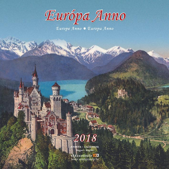 EURÓPA ANNO - NAPTÁR 2018 (22X22CM)