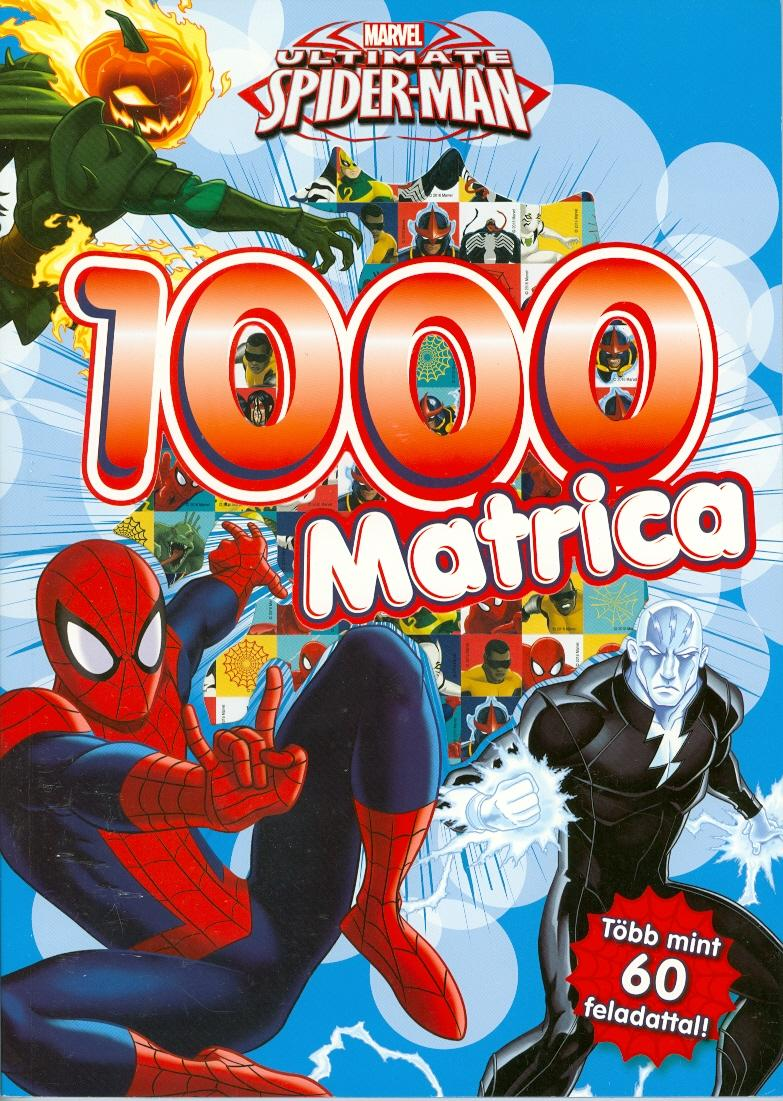 - - ULTIMATE SPIDER-MAN - 1000 MATRICA (PÓKEMBER)