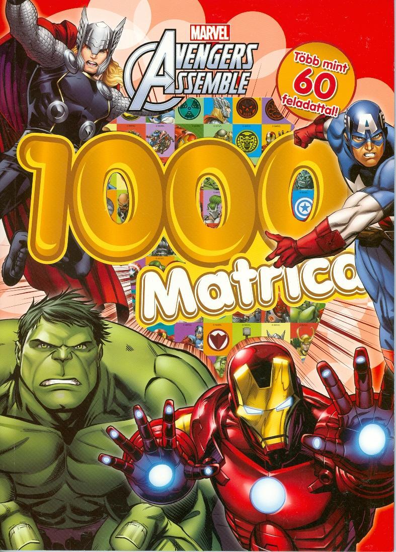 - - AVENGERS ASSEMBLE - 1000 MATRICA (BOSSZÚÁLLÓK)