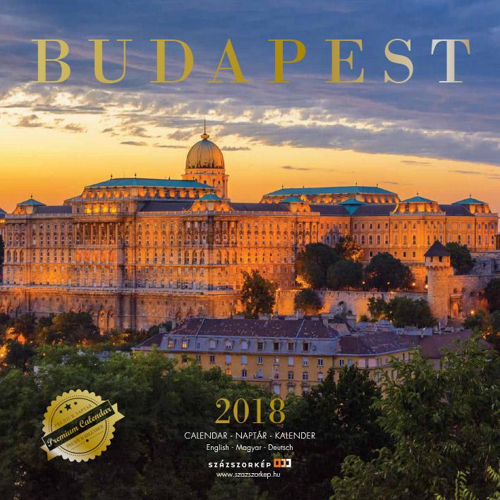 BUDAPEST - NAPTÁR 2018 (30X30CM)